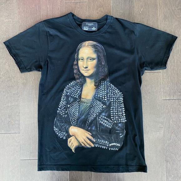 Dom Rebel Monnalisa T-shirt.